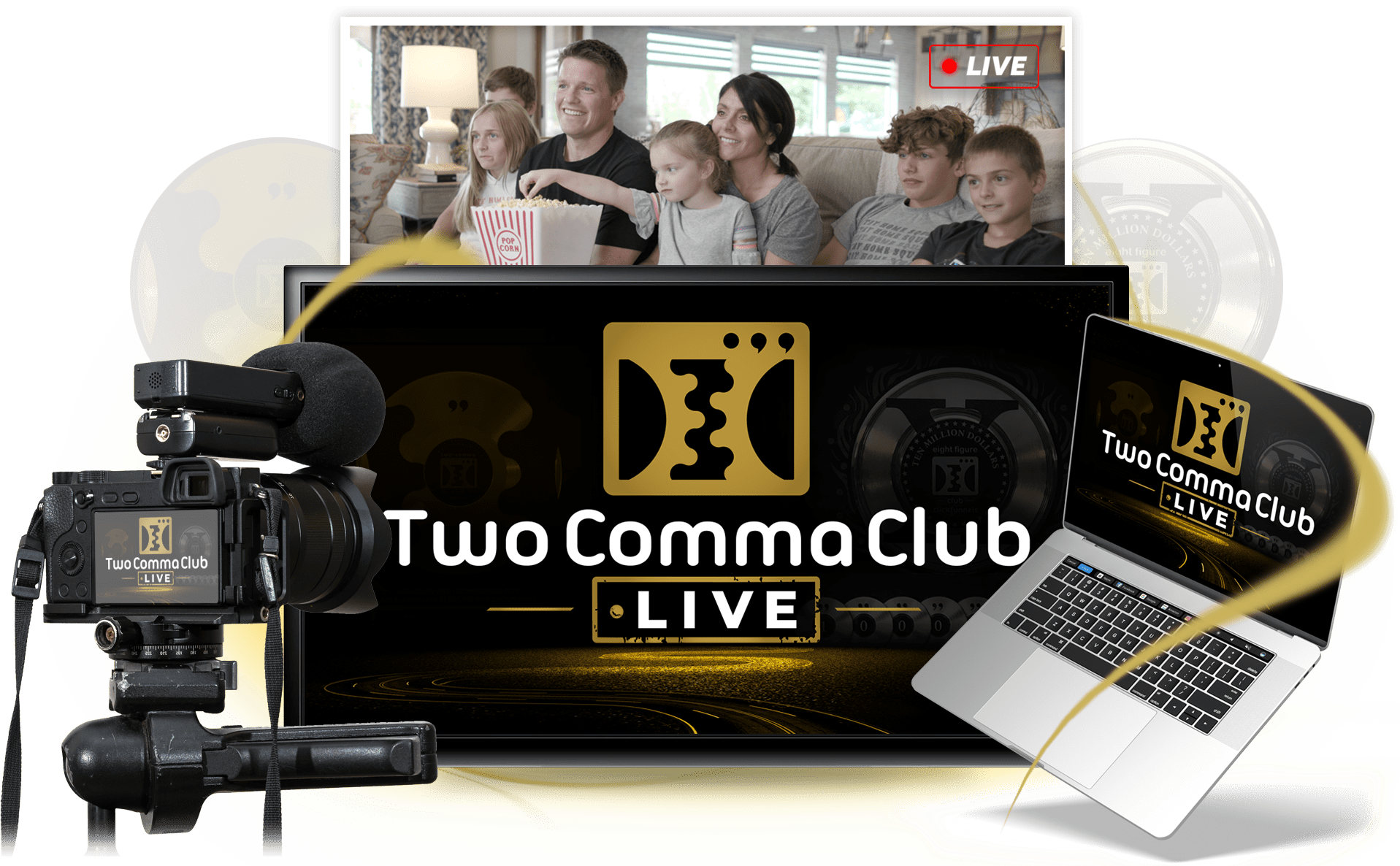 Two Comma Club LIVE