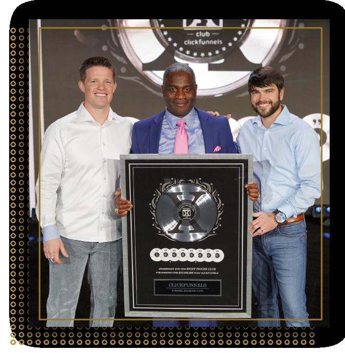 Myron Golden Two Comma Club Award